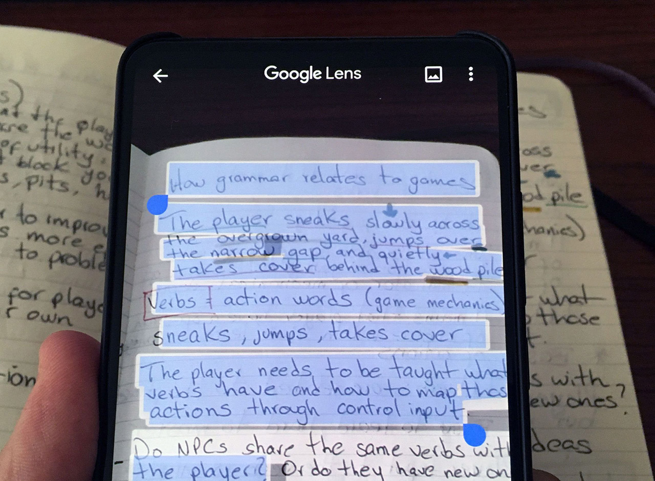Google Lens Copy to Computer