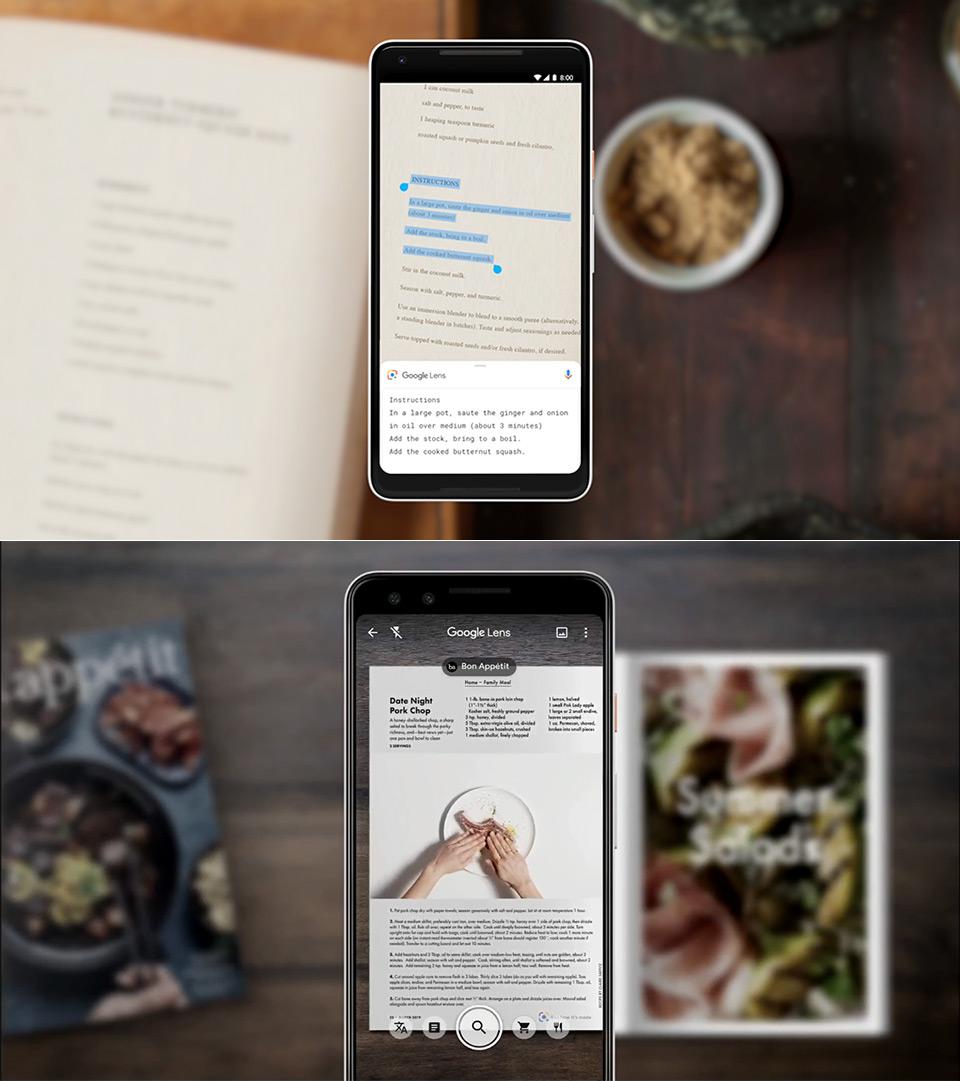 Google Lens Menu Food