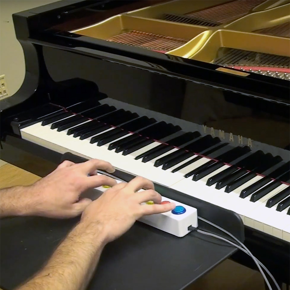 Piano Genie is Google's AI-Powered Interface That Lets You Improvise on the Piano Using 8 Buttons