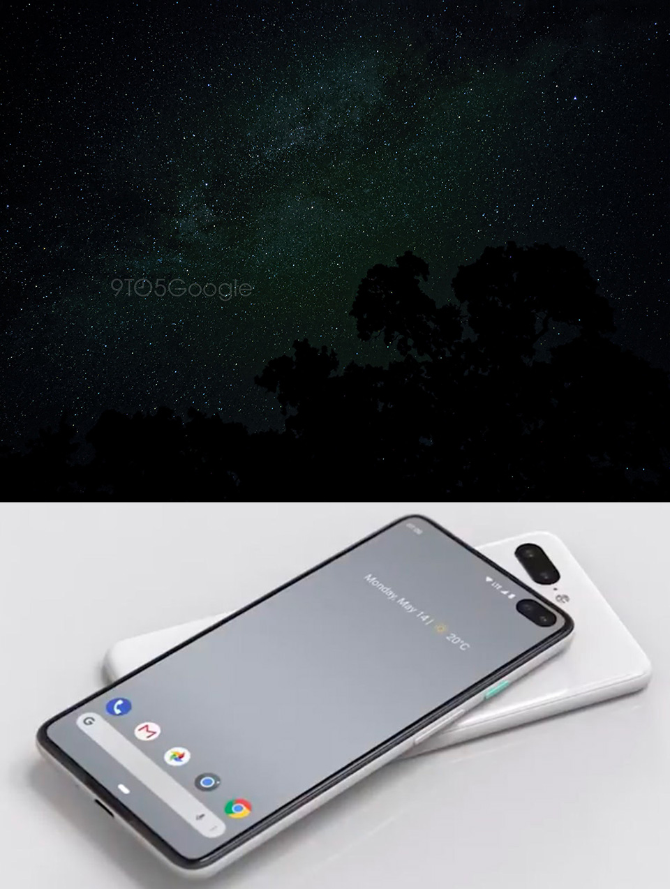 Google Pixel 4 Astrophotography
