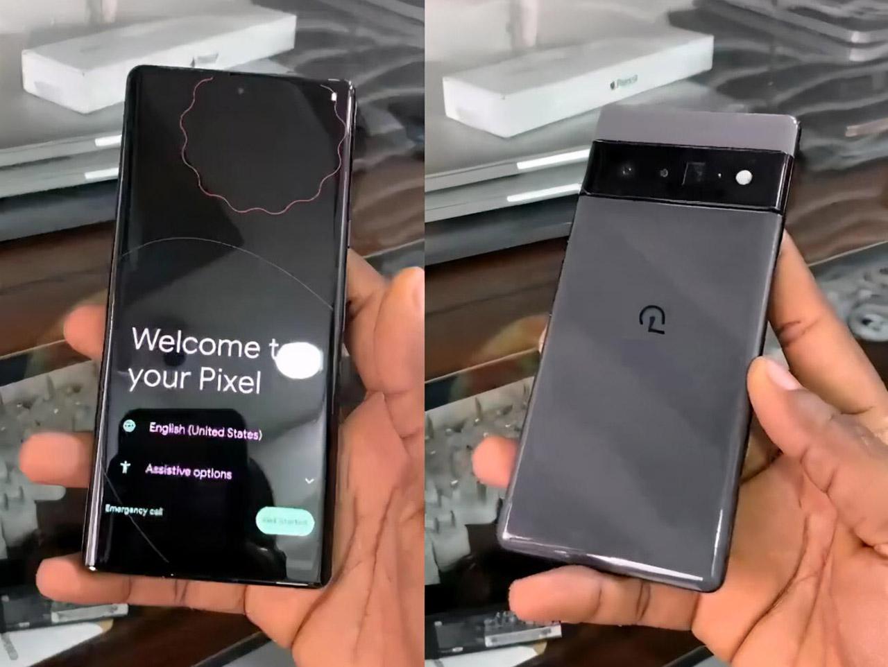 Google Pixel 6 Pro Smartphone Camera Photograph Video Leak