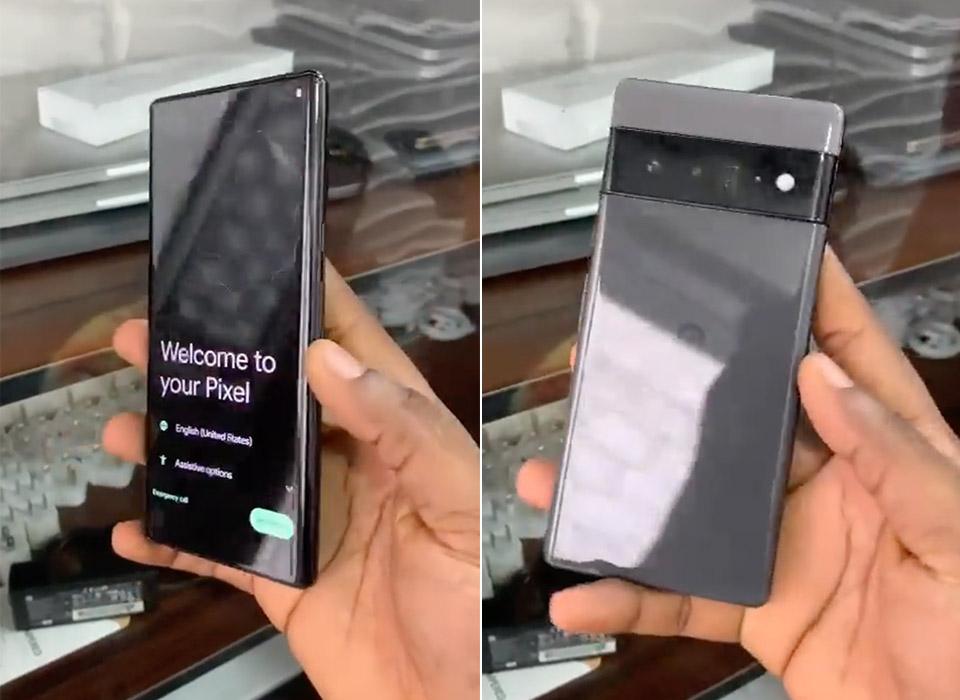 Google Pixel 6 Smartphone Leak Hands-On