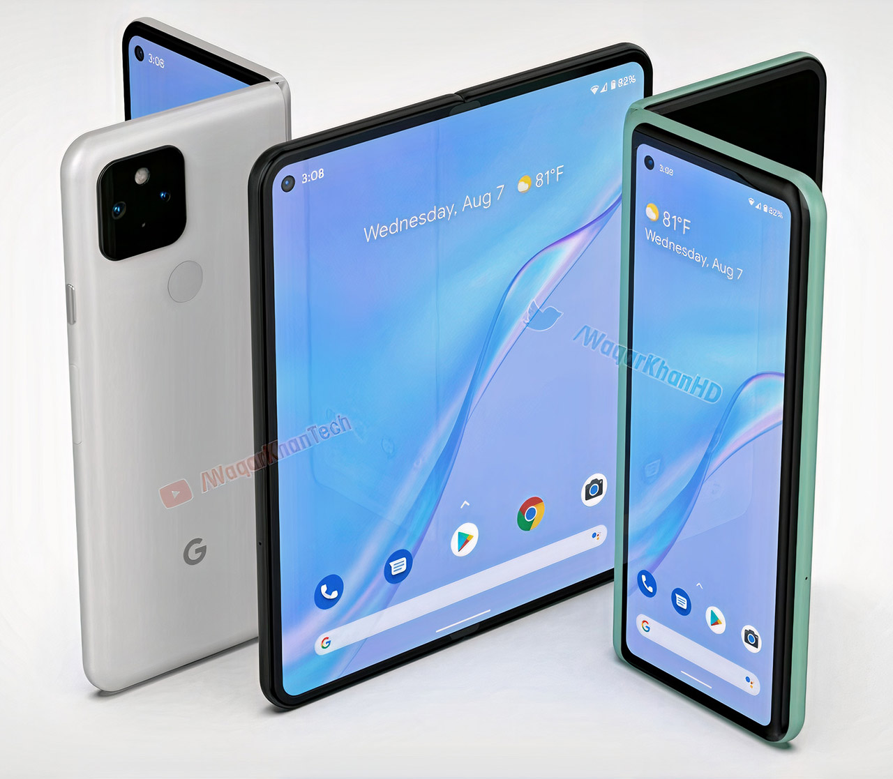 Google Pixel Fold Smartphone Samsung Display