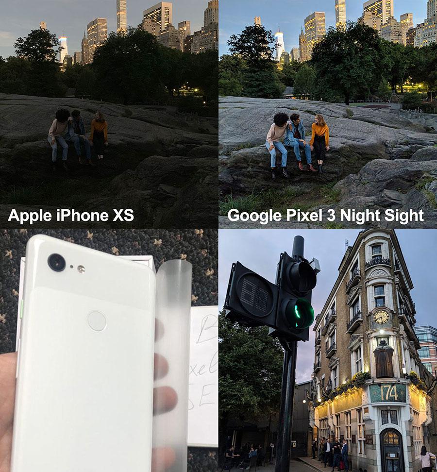 Google Pixel Night Sight