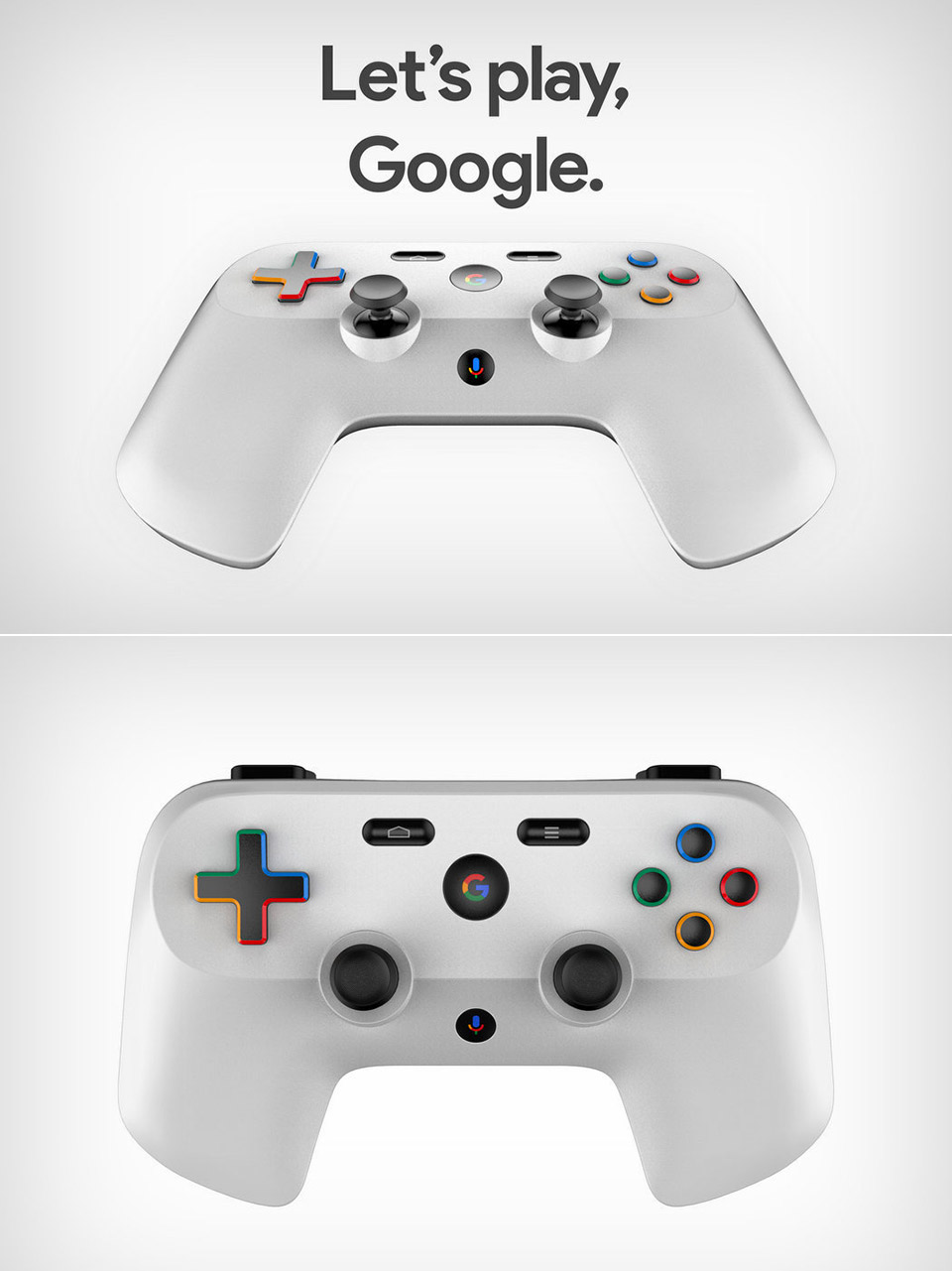Google Project Stream Controller