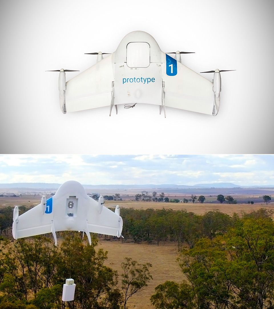 Google Project Wing Drone Delivery