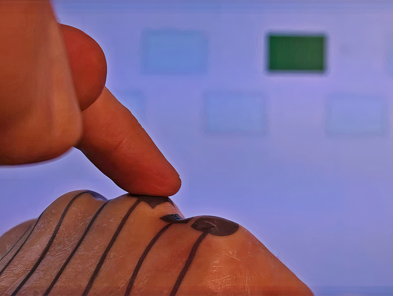 Google SkinMarks Tattoo Body Touchpad