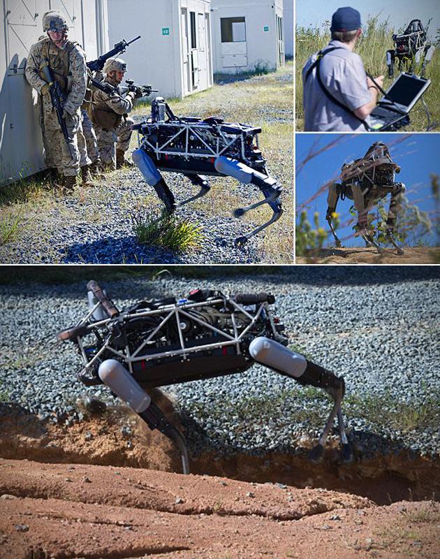 Google Spot Robot