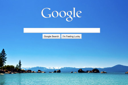 Google background for Homepage wallpaper