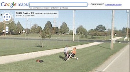 Funny Google Maps Street View Sightings