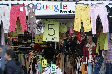 Google clothing store