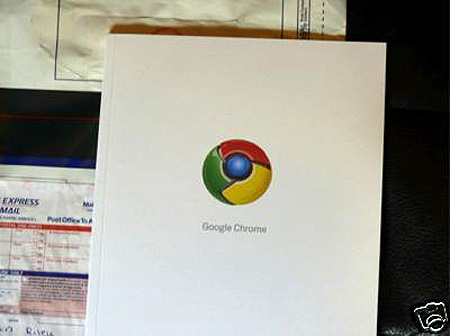 Yes, bidding for this limited edition Google Chrome comic book has already