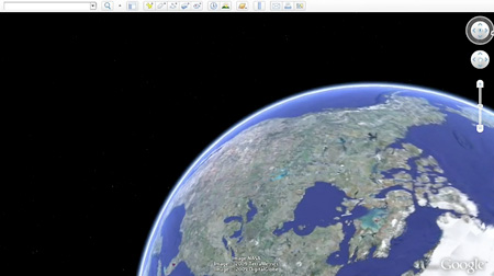 Google earth 5 0 techeblog for 3d map of outer space