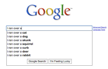 Funny Google Suggestions