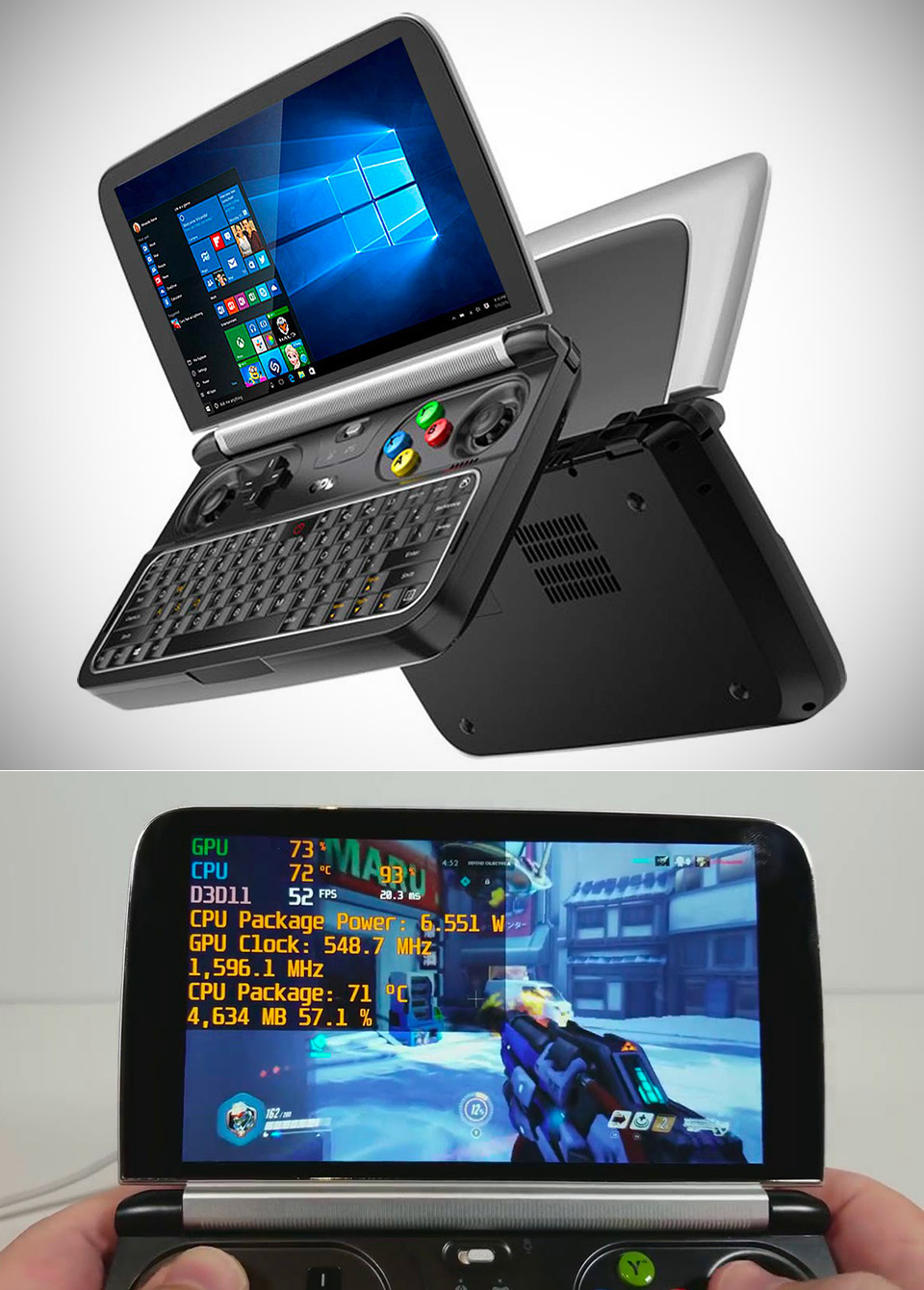 GPD Win 2 is a Handheld Computer That Can Play Overwatch, Here's