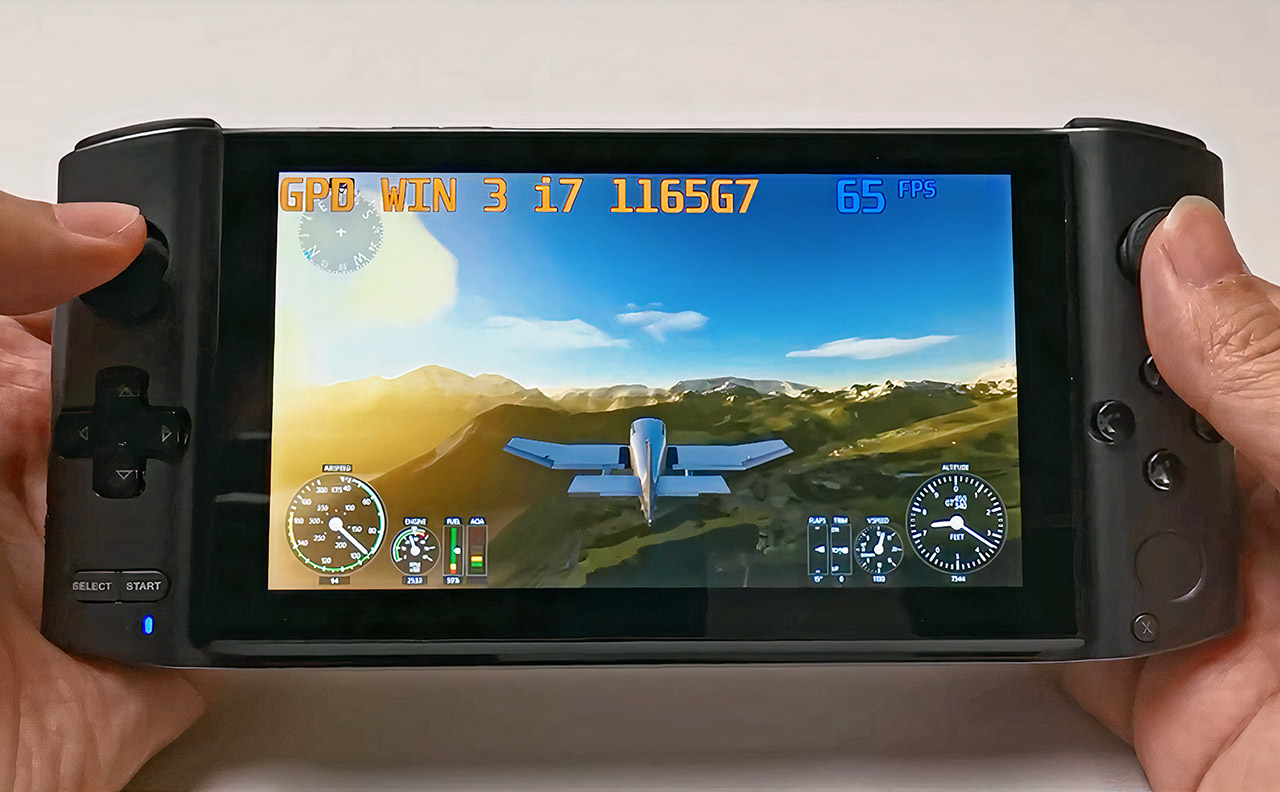 GPD Win 3 Handheld Windows 10 Gaming PC