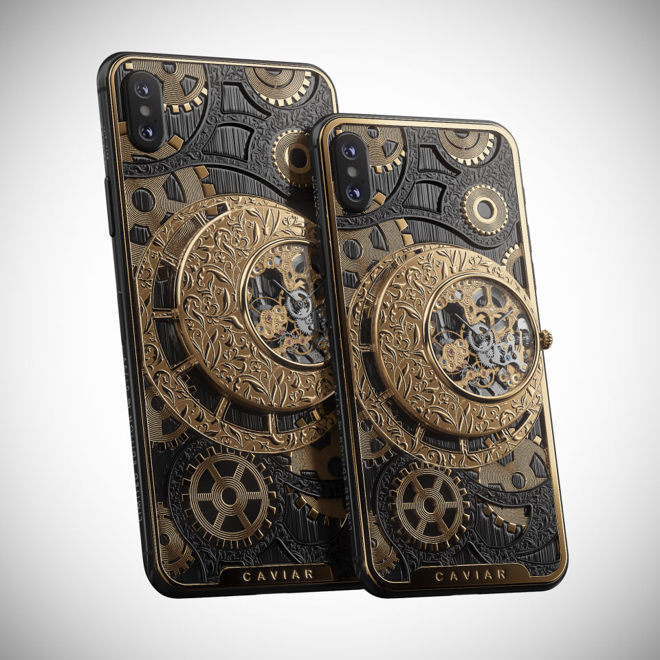 Grand Complications Skeleton iPhone XS