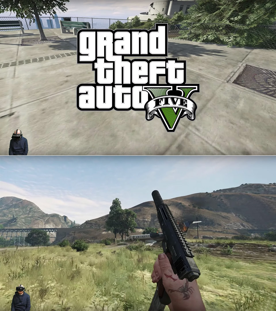 GTA 5 Virtual Reality Mod