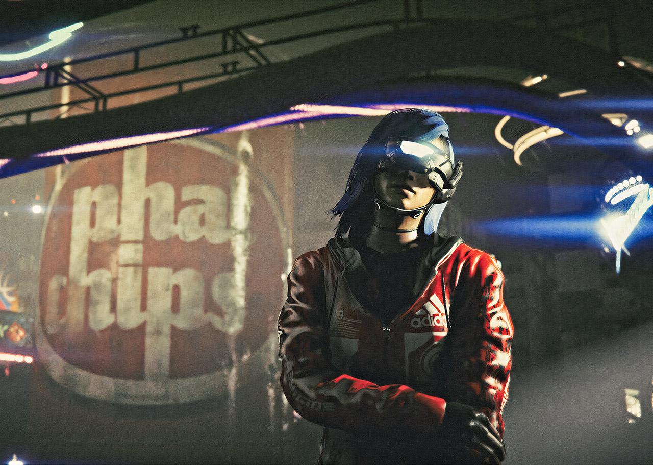Grand Theft Auto V Cyberpunk 2077 Mod