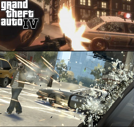 Grand Theft Auto 4 PC. Unlike the console versions, you'll need Windows XP