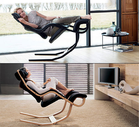 Gravity Balans Chair Looks Out of This World, Lets You Feel ...