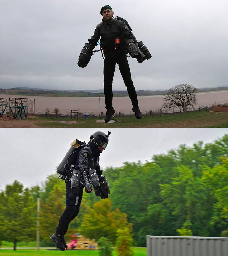 Gravity Industries Jet Suit Pack