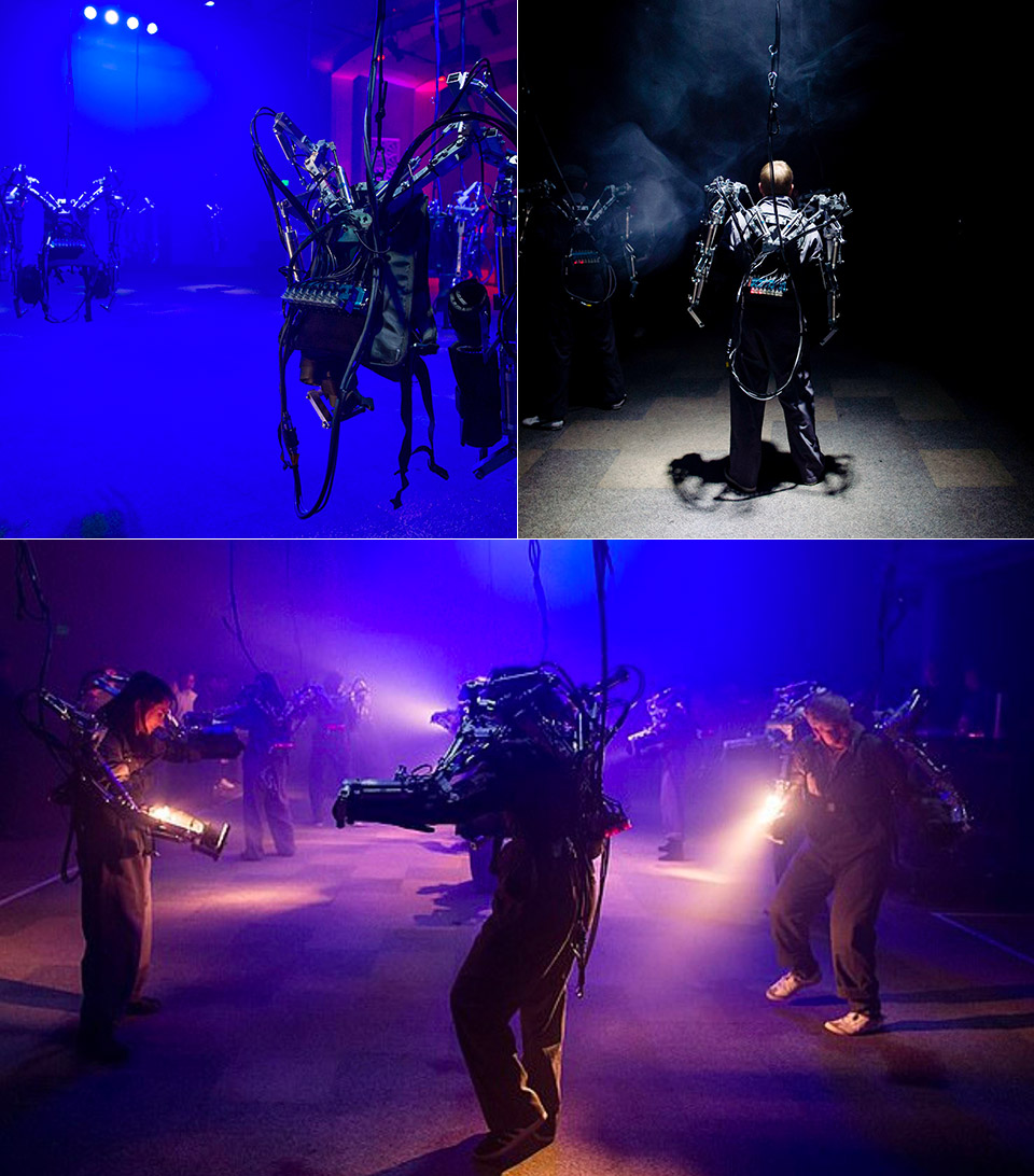 Gray Area Festival Exoskeleton Rave