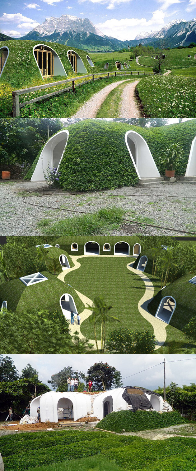 Green Magic Homes Hobbit Home