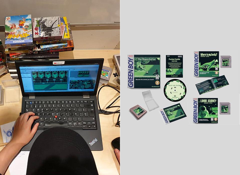 GreenBoy Games New Nintendo Game Boy Game Cartridges