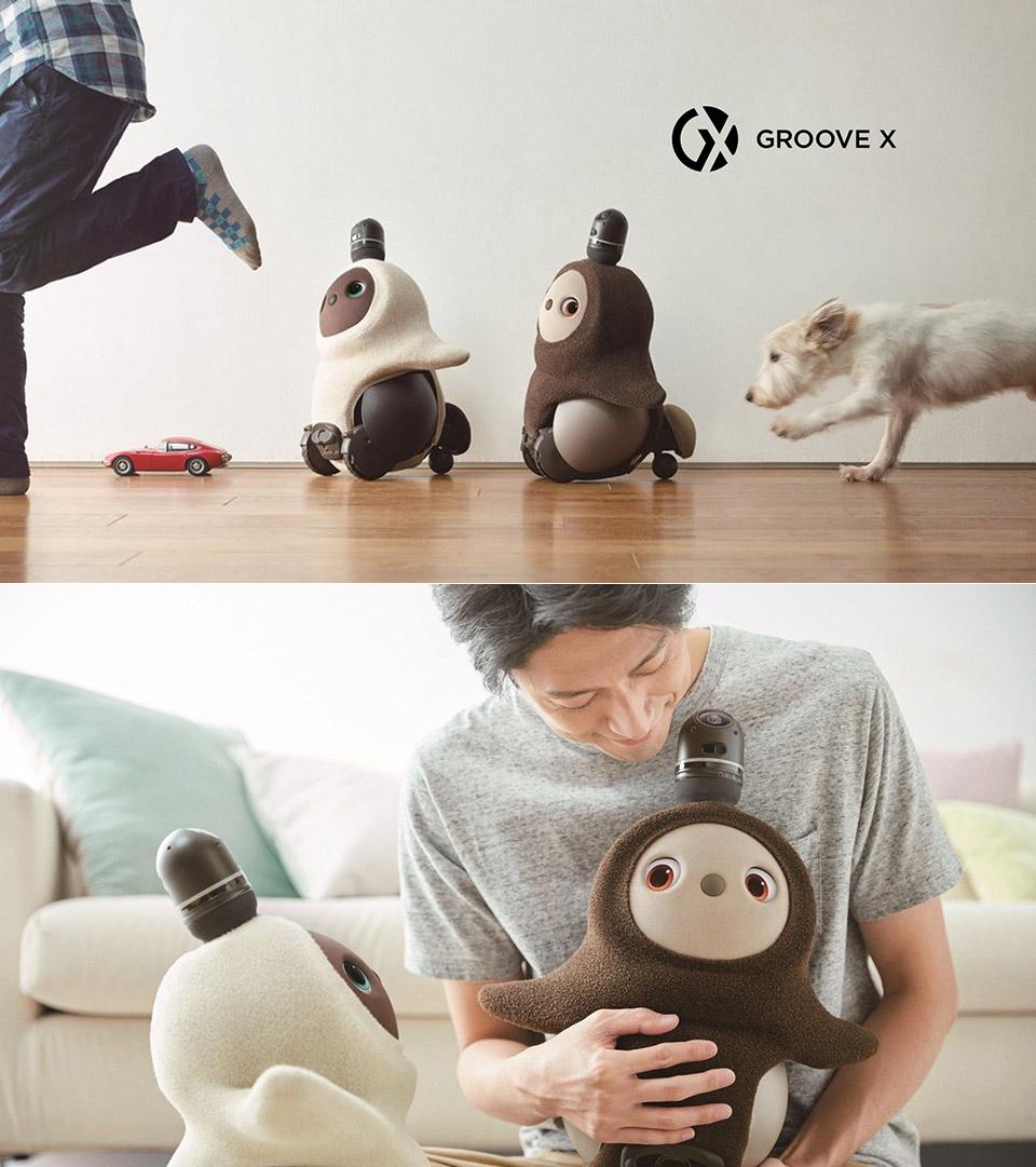Groove X Lovot Robotic Pet Robot