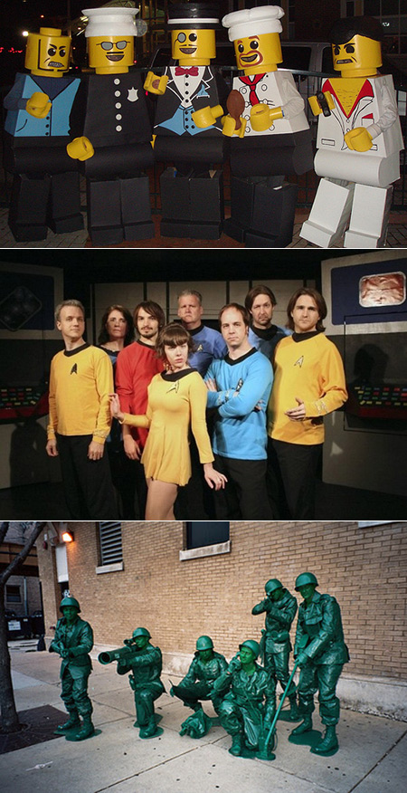 24 Cool And Creative Group Costume Ideas Geeks Would Love