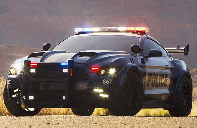 GT350R Police Interceptor