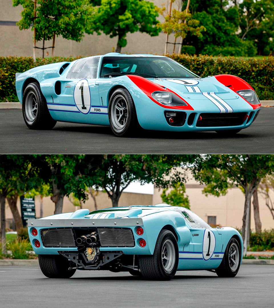 This Ford GT40 Was Driven By Christian Bale In Ford V
