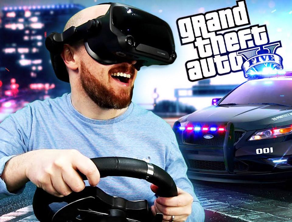 GTA 5 VR Steering Wheel