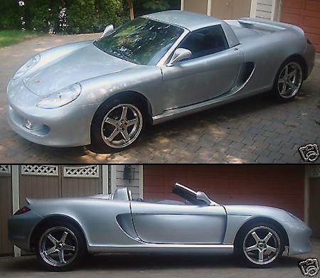 EBay Watch: Porsche Carrera GT Made From Pontiac Fierro