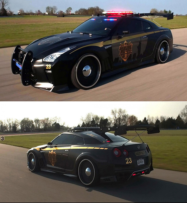 Awesome Nissan GT-R Police Car Might Be Hard to Outrun - TechEBlog