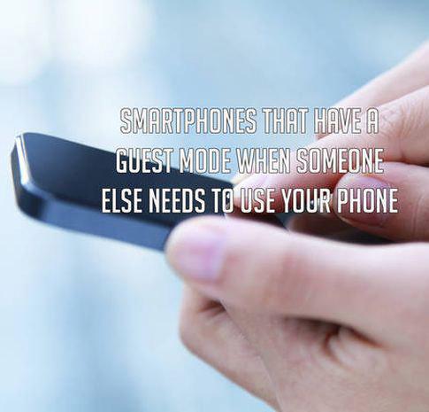 Guest Mode Smartphone