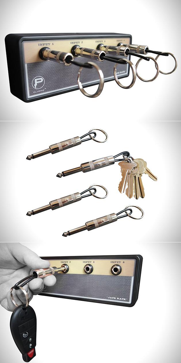 jack rack guitar amp key holder