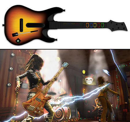 Guitar Hero Wireless Controller