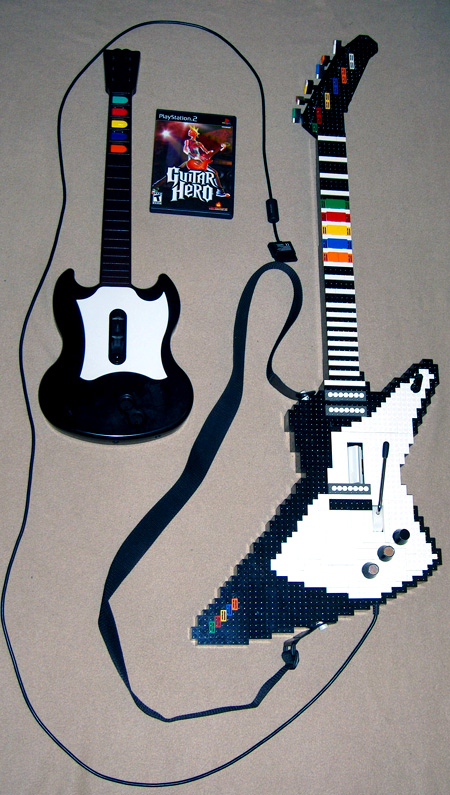 TechEBlog » Incredible LEGO Guitar Hero Controller is Fully Functional