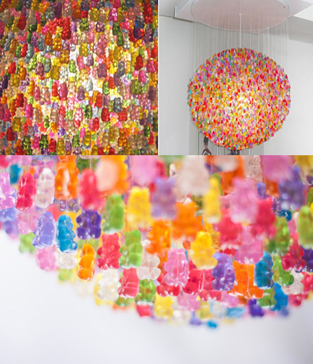 Chandelier made with more than 3000 gummy bears might be coolest chandelier made with more than 3000 gummy bears might be coolest ever aloadofball Images