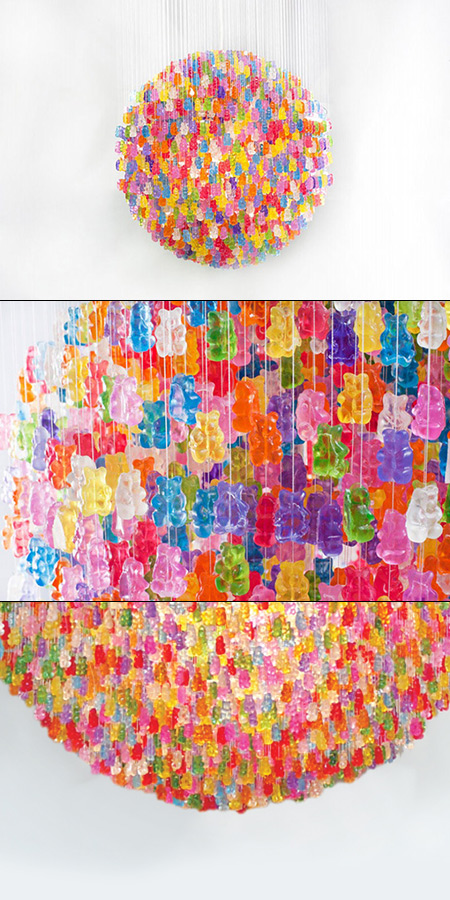 21 Cool and Creative Lamps Chandeliers Made From Everyday Objects – Awesome Chandeliers