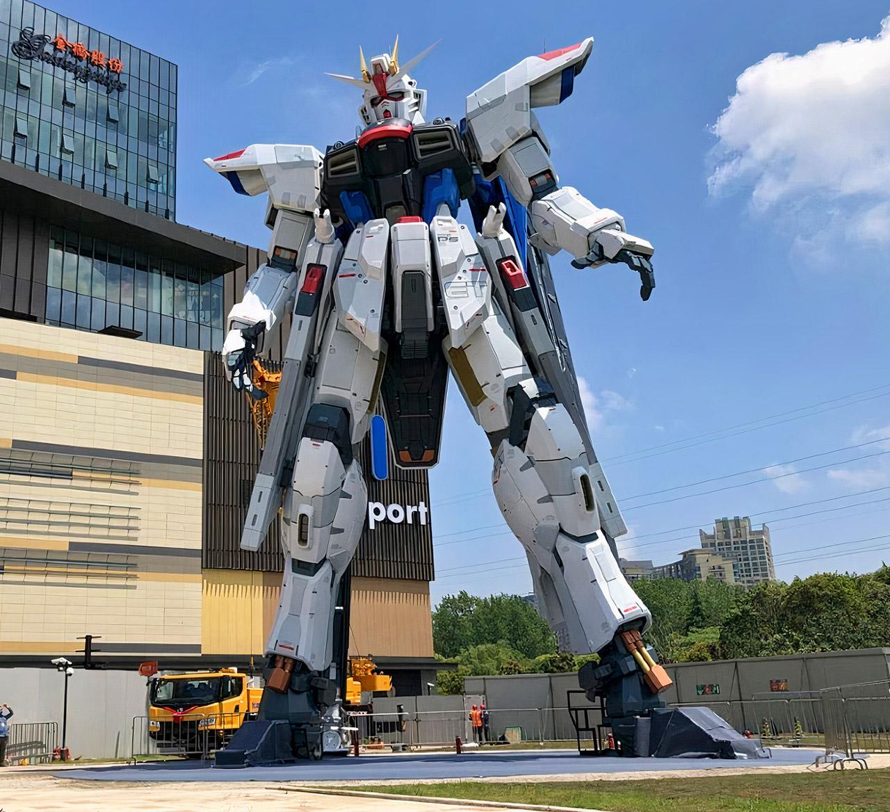 Gundam Statue Shanghai China