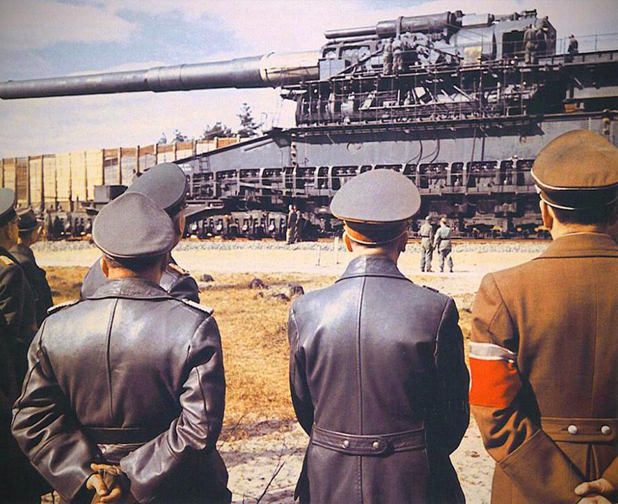 Gustav Gun World's Largest Gun