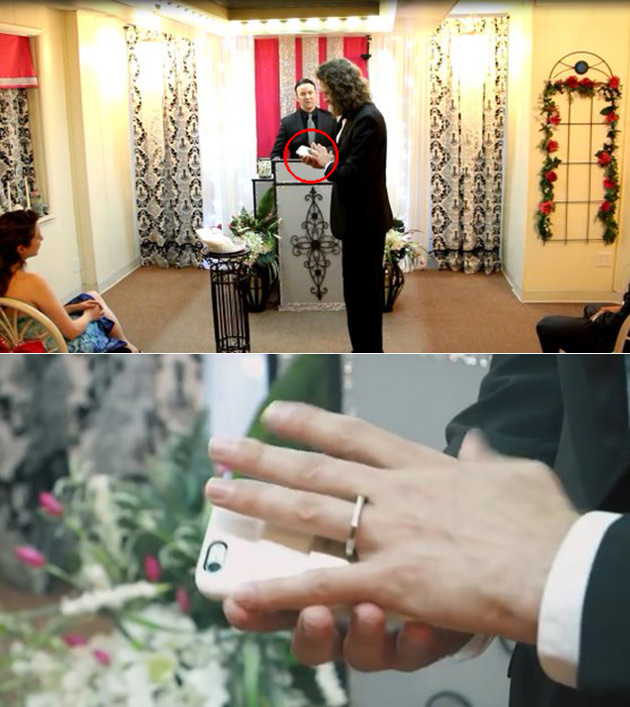Guy Marries Smartphone