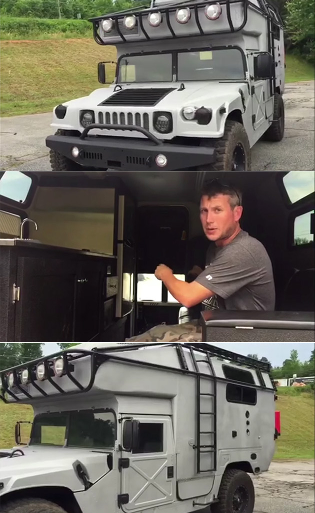 H1 Hummer Expedition Vehicle