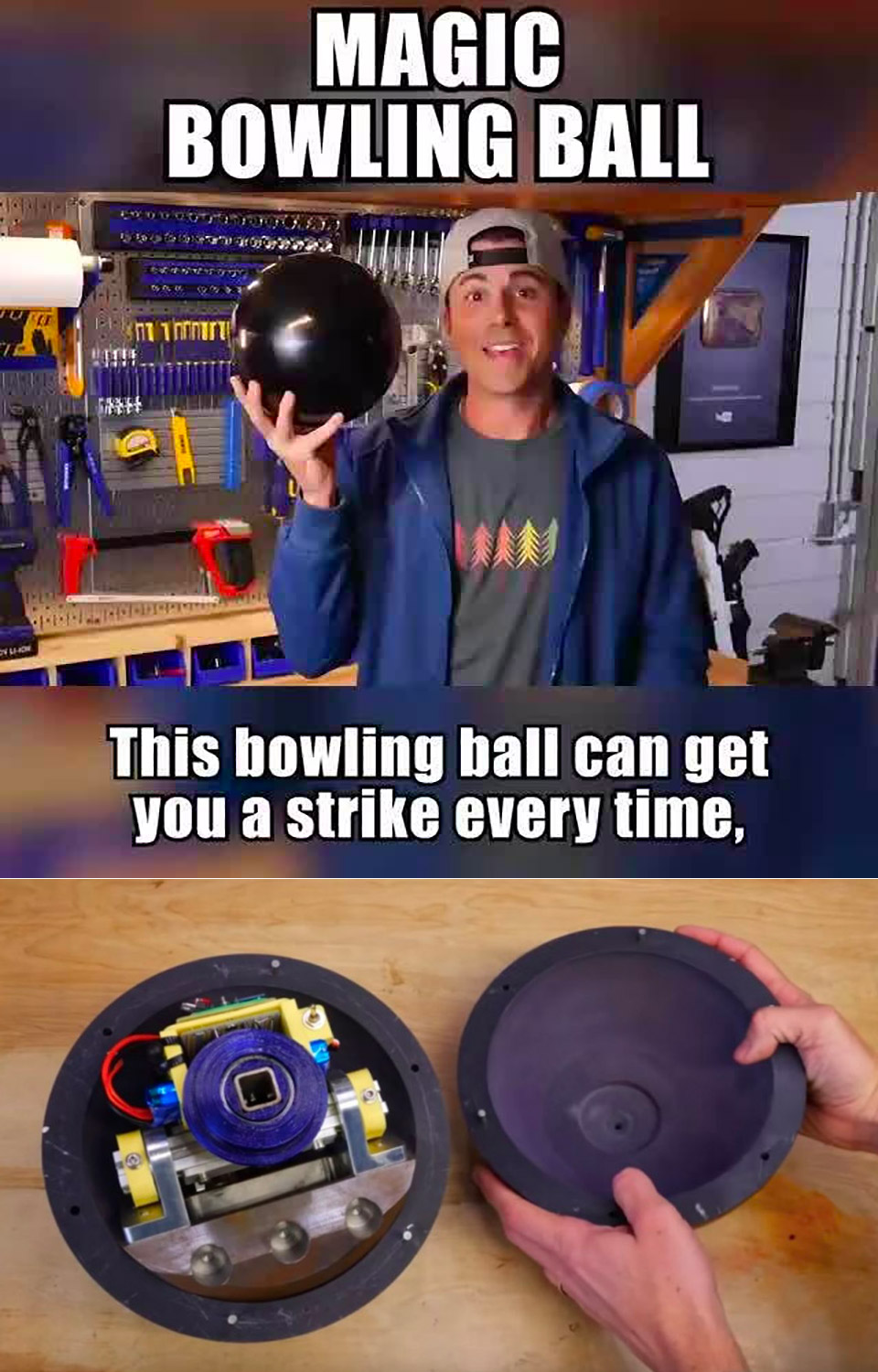 Hacked Bowling Ball Strikes