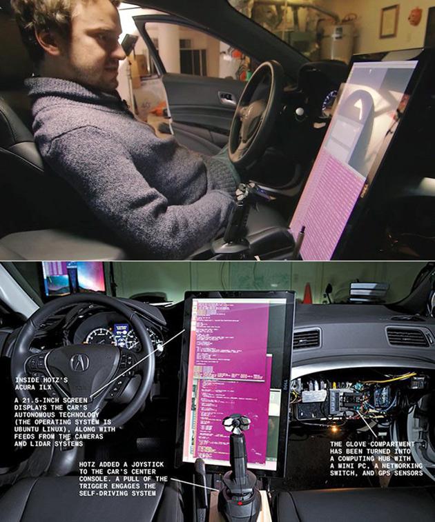 Hacker Self-Driving Car