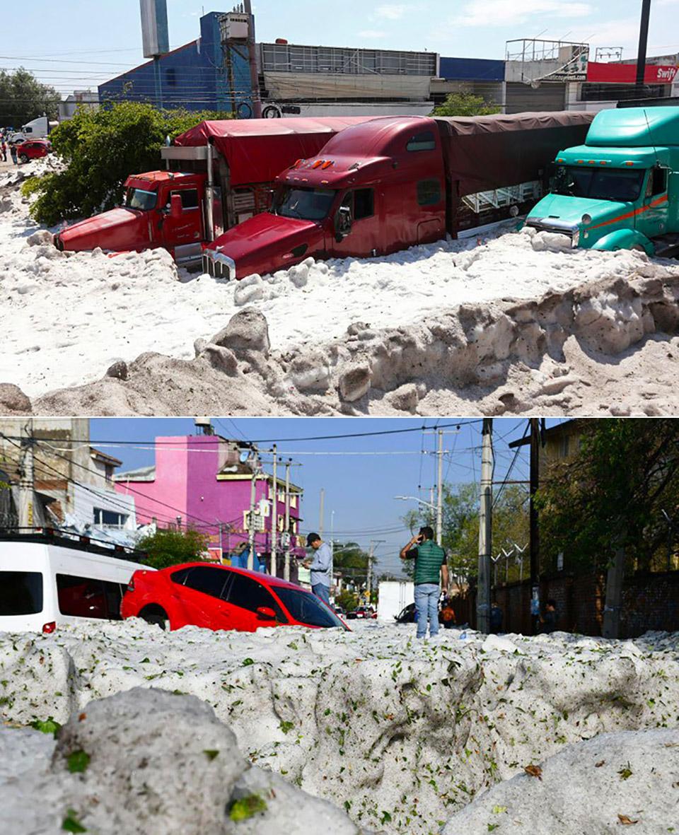 Hail Storm Mexico