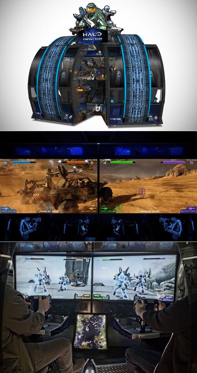 Halo Fireteam Raven Arcade Game